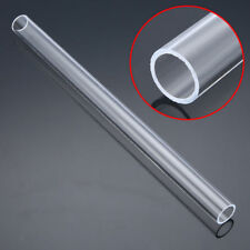 30cm Clear Plastic Acrylic Plexiglass Tube 2cm OD 1.6cm ID Hollow Pipe Model