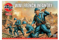 AIRFIX® 1:76 WW1 FRENCH INFANTRY VINTAGE MODEL KIT SOLDIERS WWI A00728V