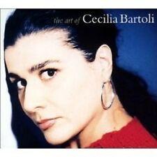 """CECILIA BARTOLI """"THE ART OF CECILA BARTOLI"""" CD NEW"""