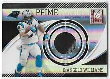 2010 PANINI ELITE DeANGELO WILLIAMS PRIME TARGETS JERSEY #29/50 PANTHERS