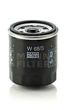 Oil Filter fits TOYOTA RAV-4 Mk1, Mk2, Mk4 1.8 2.0 1994 on Mann 0892202003 New