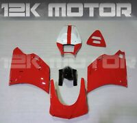 Red Fairing Kit Fairing Set Fit Bodywork Panel For DUCATI 748 916 996 10