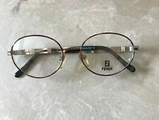 Fendi Authentic Vintage 90s Eyeglasses New Metal Frame # Vl7182 Made In Italy