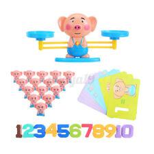 Animal Number Balance Math Toys Preschool Toddler Balancing Mathematics Gift