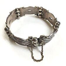 Taxco Mexico AJ Sterling Silver 925 Bracelet