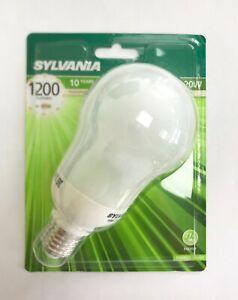 Sylvania 20w (85W)  ES / E27 2700K CFL Mini-Lynx Compact GLS (0035507)
