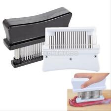 Professional Meat Tenderizer 48 Sharp Stainless Steel Blade Knive Kitchen Tool #