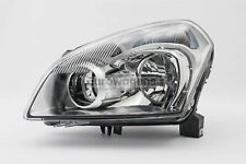 For Nissan Qashqai 07-10 Chrome Headlight Headlamp Left Passenger Near Side N/S