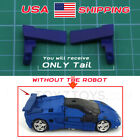 Blue Car Tail Spoilers Upgrade for Netflix War for Cybertron Deep Cover Spoilers