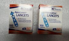 2 Boxes of 100 Count Aqualance Lancets 30G