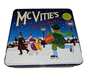 Vintage McVitie's Biscuit Tin Empty Caddy Box Classic Collection Rare Retro