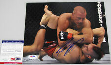 Georges Rush St Pierre 'Gsp' Hand Signed 8'x10' Photo 2 + Psa Dna Coa V70441