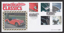 1996 CLASSIC SPORTS CARS SET OF 5 ON BENHAM OFFICIAL FDC SP/HS