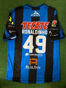 QUERETARO RONALDINHO 2014-2015  PLAYER VERSION SHIRT XL