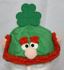 Vtg Hallmark Beanie O'Greenie Hat Cap 1985 St Patrick's Day Shamrock Leprechaun