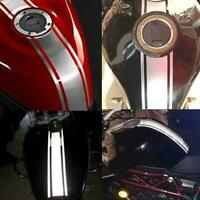 Motorcycle Tank Cowl Vinyl Stripe Pinstripe Decal Sticker For Cafe Racer G2H3