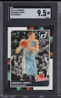 2015-16 DONRUSS THE ROOKIES NIKOLA JOKIC RC SGC 9.5