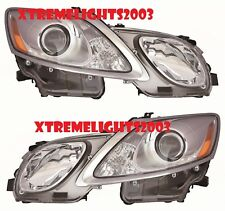 FITS LEXUS GS350 GS430 GS460 2007-2011 HEADLIGHTS HEAD LIGHTS LAMPS  PAIR