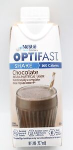 OPTIFAST® 800 READY-TO-DRINK SHAKES | CHOCOLATE | 24 SERVINGS | NEW & FRESH