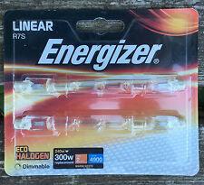 Energizer s5162 R7s Lineal Eco Bombilla halógena de 240 W 300 W Tarjeta De 2 Regulable Bombillas