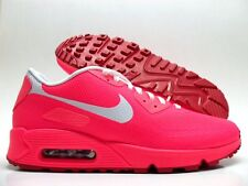 NIKE AIR MAX 90 HYPERFUSE PREMIUM ID SOLAR RED/WHITE SIZE MEN'S 9.5 [822560-997]