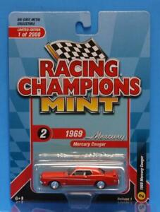 RACING CHAMPIONS 2020 R1 1969 Mercury Cougar Eliminator Boss 302 Orange