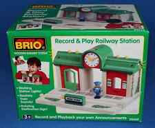 BRIO Record & Play Railway Station
