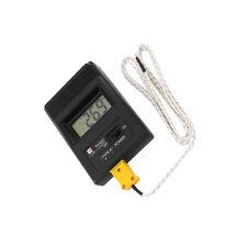 TM-902C Digital LCD K Type Thermometer Meter Single Input + Thermocouple Probe