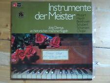 Jörg Demus-Instrumente der Meister-Rare Neuseeland Pressung-BASF
