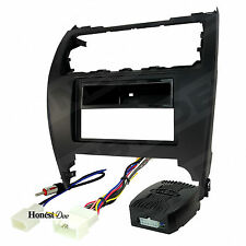 99-8232B Double Din Radio Install Dash Kit & Wires for Camry, Car Stereo Mount
