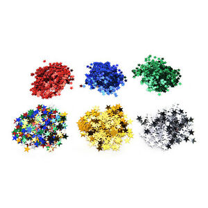 Wedding Sparkle Scatter Stars Table Confetti Foil Birthday Party Decor H.dr