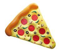 JUMBO QUALITY FUNKY PIZZA SLICE INFLATABLE SWIM POOL FLOAT RAFT LILO LOUNGER