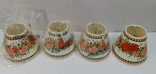 4 Mini Christmas Country Red Pink Rose Checked Lampshades Clip-On Ivy Holly Cone