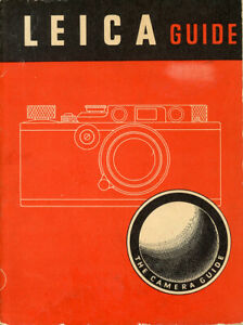 Leica Guide W.D. Emanuel Soft Covers 1948 Edition