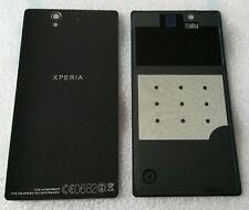 Batería Tapa Cubierta de Trasera Negro Sony Xperia Z LT36i LT36H Nuevo