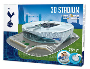 Tottenham Hotspur Stadium 3D Puzzle Spurs Model Gift Football White Hart Lane