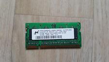 512Mo Micron DDR2 PC2-4200S-444 MT8HTF6464HDY-53EB3