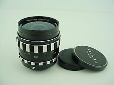 Steinheil 35mm F/2.8 Auto D Quinaron - M42 Screw Mount Lens