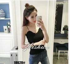 KNITTED SLEEVELESS TOP 18620 RC  - BLACK