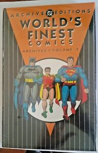 Worlds Finest Archive Editions DC HC Vol # 1  - NEW (Shrink Wrapped)