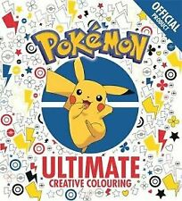 The Official Pokemon Ultimate Creative Colouring by Pokemon (Paperback, 2017)