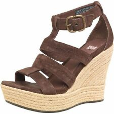 UGG Australia Wedge 100% Leather Upper Shoes for Women