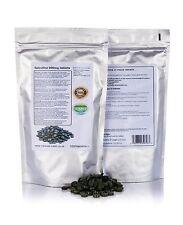 Spirulina Pastillas 1000 x 400mg 100% GMO GRATIS desintoxicación