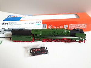 Roco 63201 Spur H0 Dampflok BR 18 201 in Originalverpackung, sehr guter Zustand