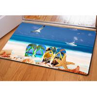 Summer Sea Doormat Area Floor Rug Bathroom Anti-slip Mat Carpet Indoor Kitchen