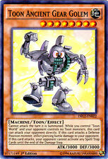 1x (EX) Toon Ancient Gear Golem - DRL2-EN022 - Super Rare - 1st Edition  YuGiOh
