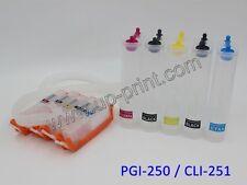 5colors 250 251 Continuous Ink system CISS IP7220 MG5420 5520 6420 MX722 IX6820
