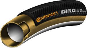 Continental Giro Road Bike Tubular Bike Tyre 700 x 22mm  - Retro Tan Wall