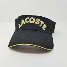 96542e4b03c406 Lacoste Sport Visor Hat Spell Out One Size/Adjustable