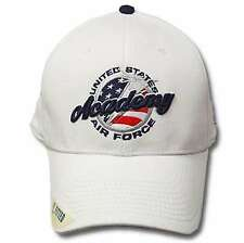 on sale 636c6 c3d37 NCAA Air Force Academy Falcons The Game Mens Fitted White Hat Cap 7 1 4